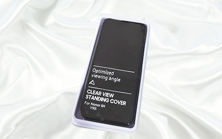 Clear View Standing Cover Honor 9X/Y9S