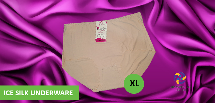 Ice Silk Underwear Women Nude(XL)