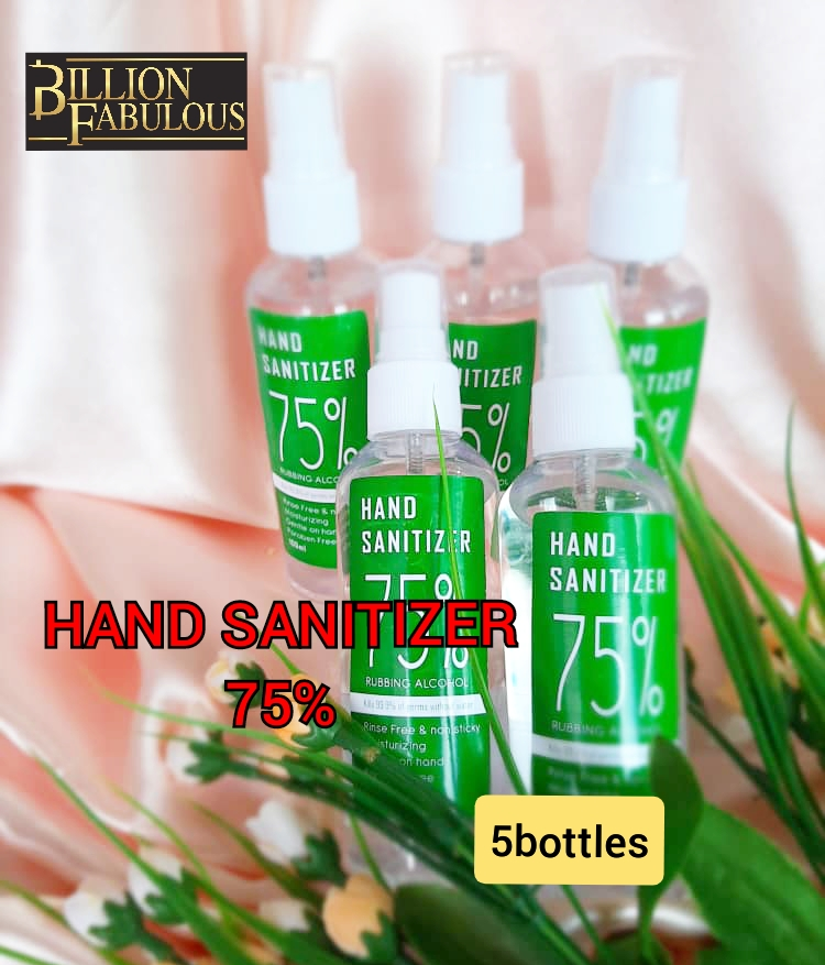 Hand Sanitizer 75% Rubbing Alcohol (100ml)